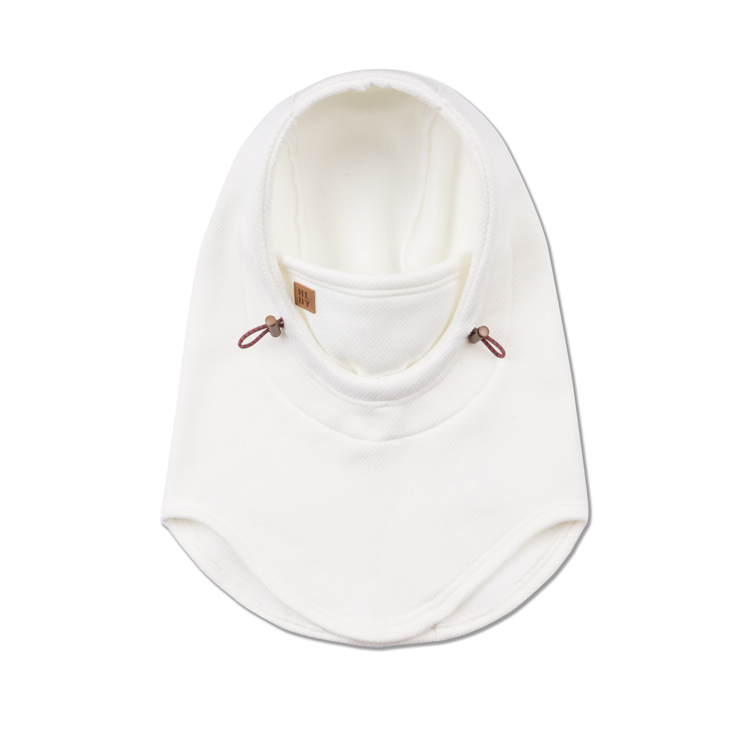 BASIC hood warmer- whiteHOLIDAY OUTERWEAR