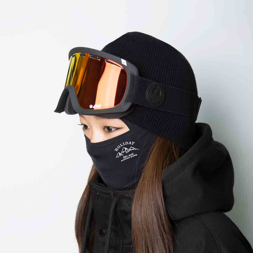 여자 바라클라바 WOMEM MTM balaclava - black[comfort]HOLIDAY OUTERWEAR