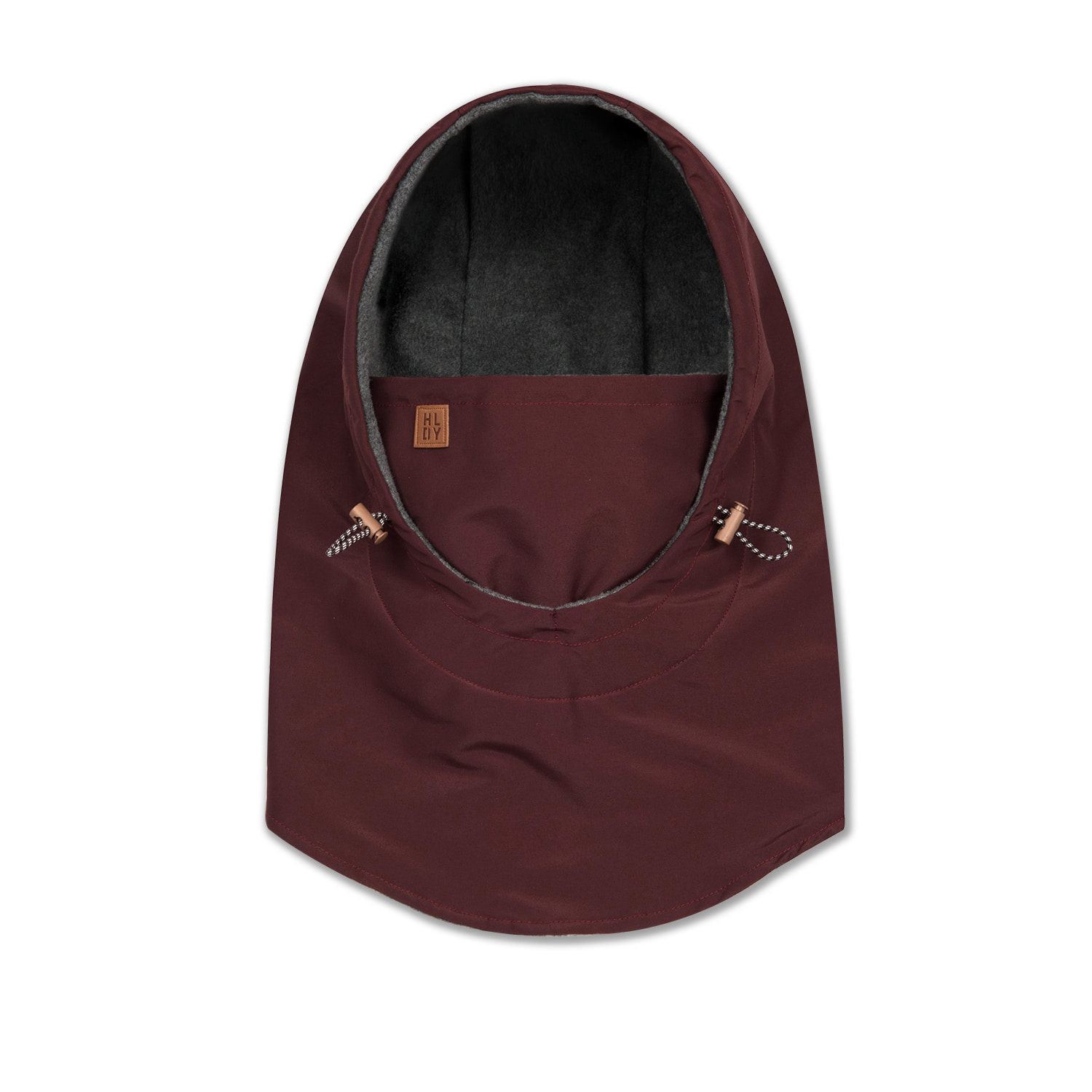 HELMET hood warmer[waterproof,방수] - burgundy